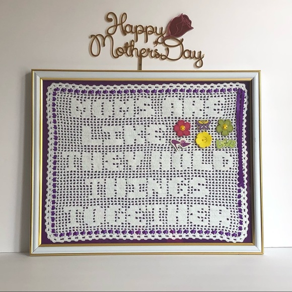 Handmade Mother's Day Wall Decor Quote